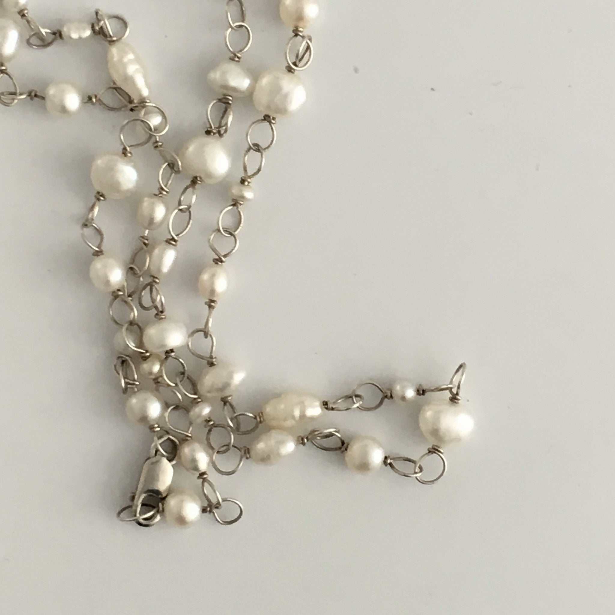 Necklace - Bridal Pearls