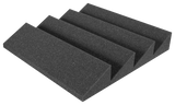 Auralex DST-114 Acoustic Foam Single Panels, Charcoal Gray - CLEARANCE