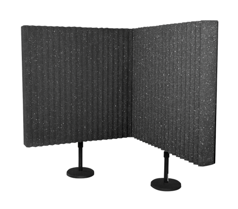 Auralex DeskMAX 2'x2' Acoustic Foam Panel with Desk Stand (2-pack)