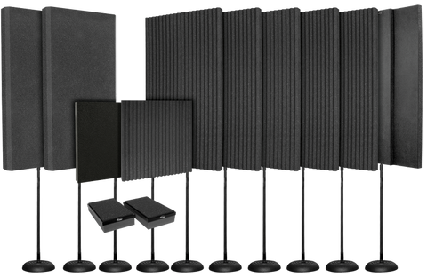 Auralex ProducerMAX Portable Acoustic Foam Kit for Monitoring & Mixing