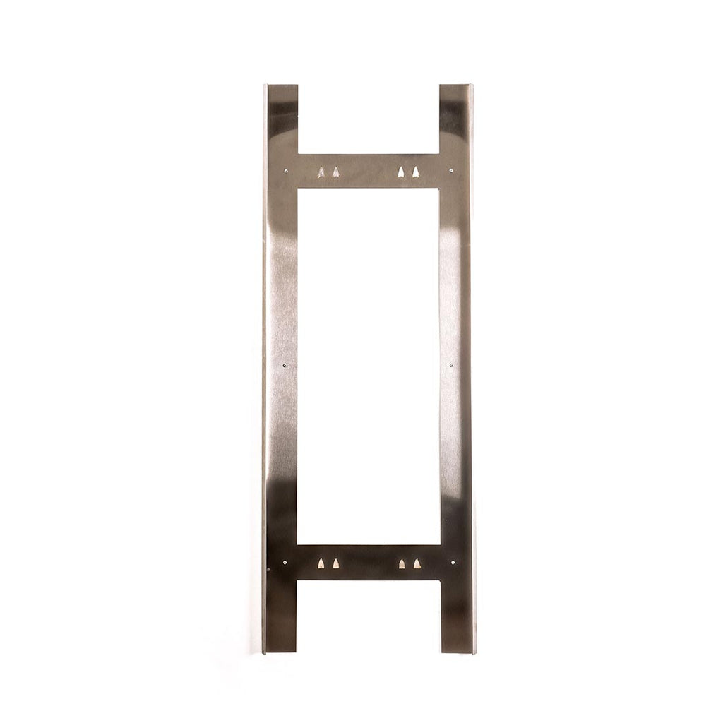 Flex-48 Polished Stainless Tray for Mounting Acoustical Panel and Shield