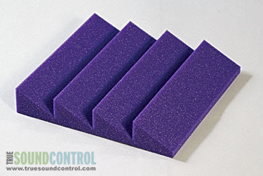 Auralex DST-114 Acoustic Foam Single Panels, Purple - CLEARANCE