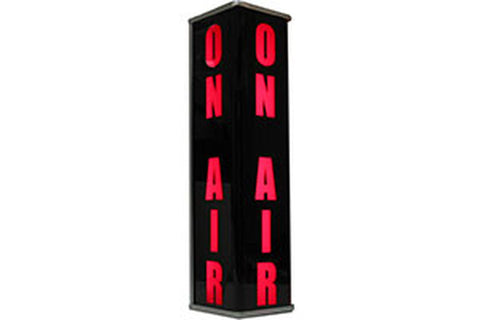 "Sandies 393 3-Sided Vertical LED Studio Warning Light - ""ON AIR"""