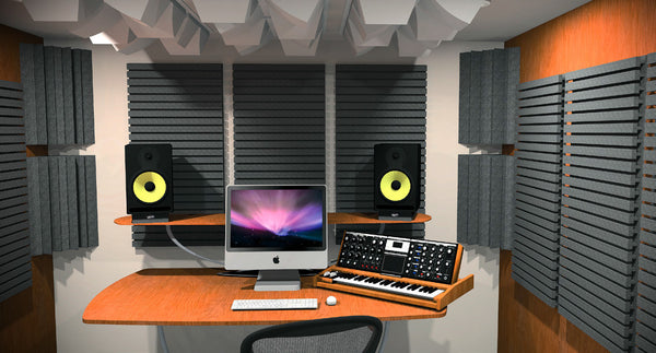Auralex Studiofoam T Acoustic Foam Panels True Sound Control