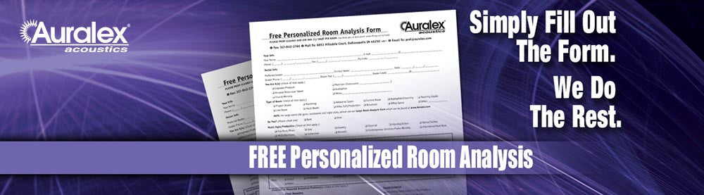 Auralex Free Personalized Room Analysis