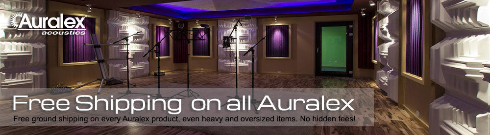 Free Shipping on All Auralex