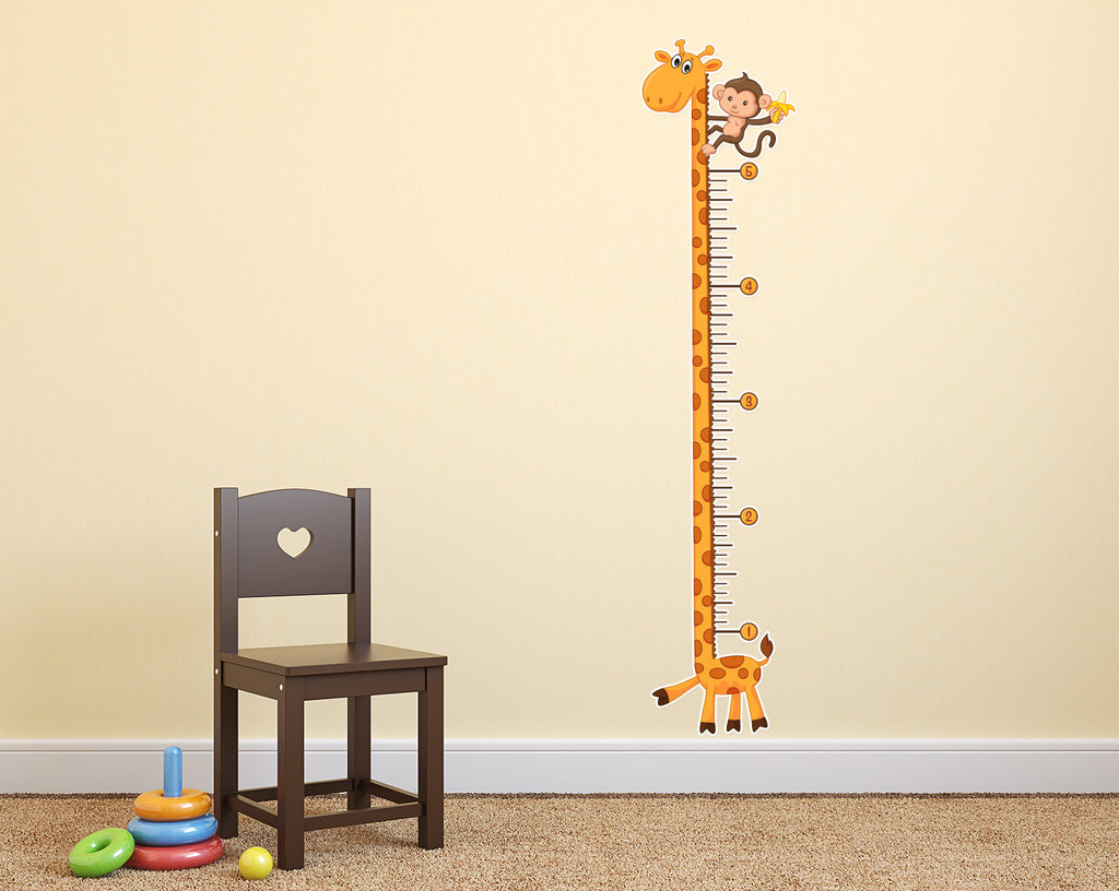 Height chart wall sticker images home wall decoration ideas kids giraffe growth chart wall decal stickerwhale giraffe growth chart wall decal sticker whale amipublicfo images amipublicfo Gallery