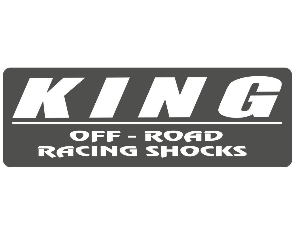 King Off-Road Shocks Sponsor Decal - Sticker Whale  - 4