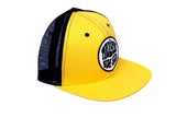 Malibu Surf Shack Snap-Back Mesh Patch Cap - Athletic Gold