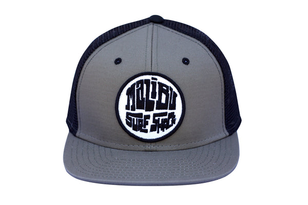 Malibu Surf Shack Snap-Back Mesh Patch Cap - Metal