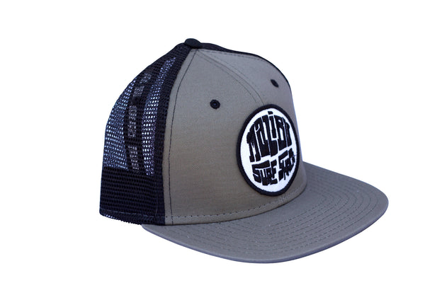 Malibu Surf Shack Snap-Back Mesh Patch Cap - Surplus