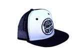 Malibu Surf Shack Snap-Back Mesh Patch Cap - White