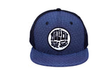 Malibu Surf Shack Snap-Back Mesh Patch Cap - Denim Dobby