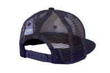 Malibu Surf Shack Snap-Back Mesh Patch Cap - Aqua