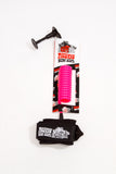 Malibu Surf Shack Coil Wrist Bodyboard Leash - Hot Pink