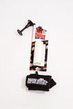 Malibu Surf Shack Coil Wrist Bodyboard Leash - White