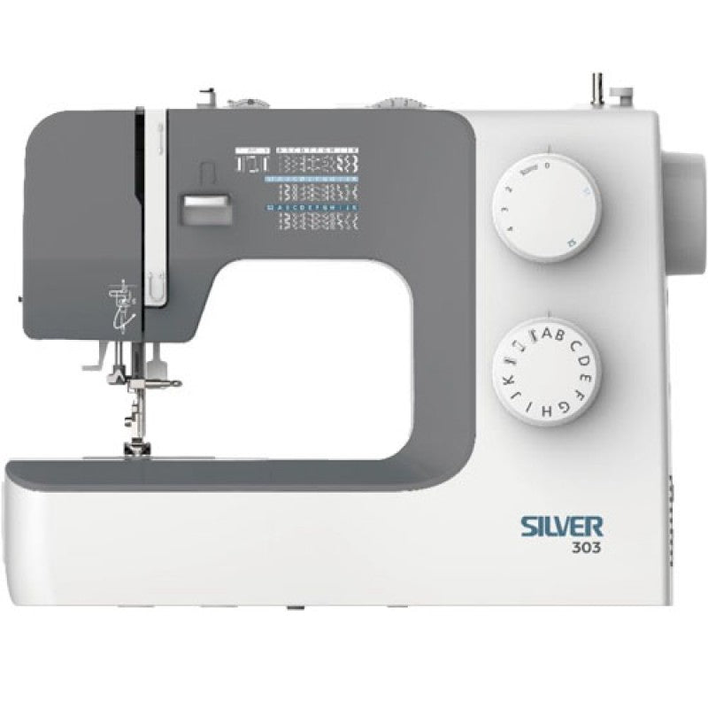 Silver 303 Sewing machine in stock