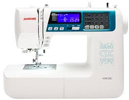 Janome 4300QDC New Model offer price now £499.00