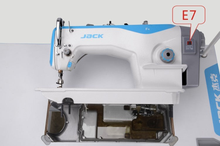 Brand New Jack F4 Straight stitch with built in servo motor