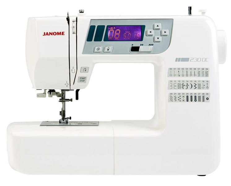 Janome 230DC EX SHOW MODEL AS NEW