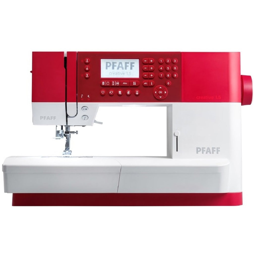 The Pfaff Creative 1.5 Sewing and Embroidery Machine Offer now only £1259.10