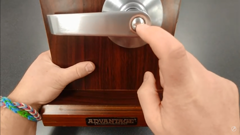 Privacy Function on lever