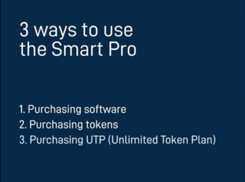 The main ways to use the Smart PRO