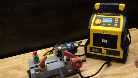 use standard 110-volt key machines in situations where you believe you may require a 12 volt