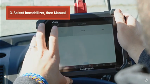 how to use the AutoProPad key programmer