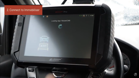 Connect to immobiliser the SmartPRO