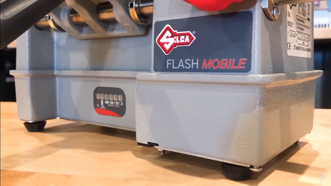 Flash Mobile Key Machine with battery pack