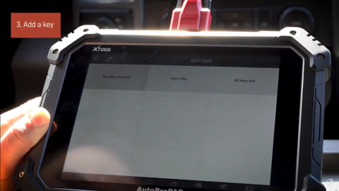 Add a Key with the AutoProPAD