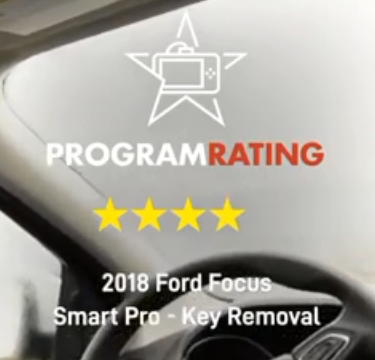 Ford key removal with the Smartpro key programmer