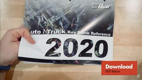 Auto truck key blank reference