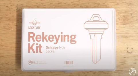 LockVoy Rekeying Kit for Schlage Locks