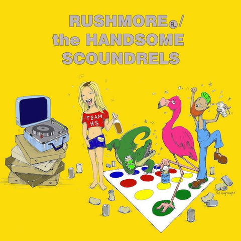 Rushmore / The Handsome Scoundrels split 7""