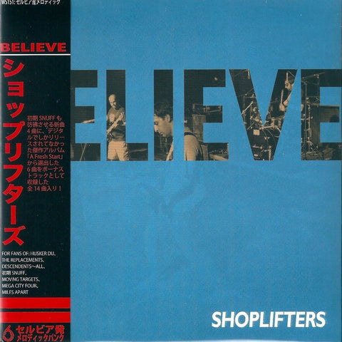 Shoplifters - Believe CD