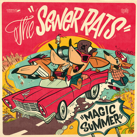 Sewer Rats, The - Magic Summer LP