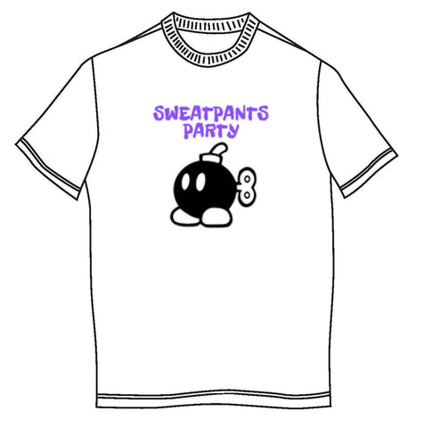 Sweatpants Party - Bob-Omb T-Shirt