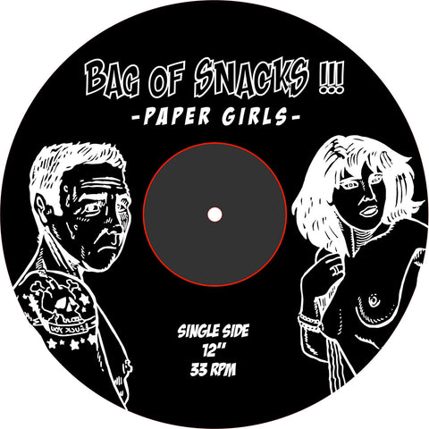 "Bag Of Snacks - Paper Girls 12"" EP"