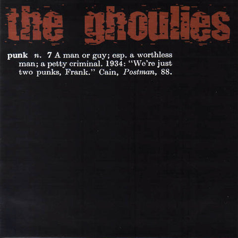 Ghoulies, The - S/T 7""