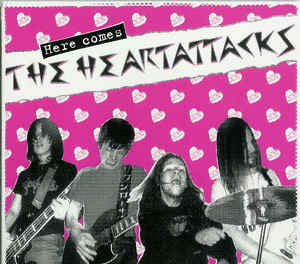 Heartattacks, The - Here Comes... CD