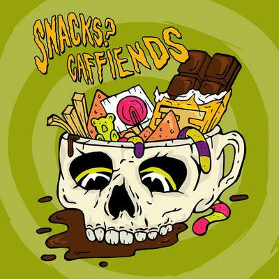 Snacks? / Caffiends split 7""