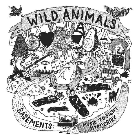 Wild Animals - Basements: Music To Fight Hypocrisy CD