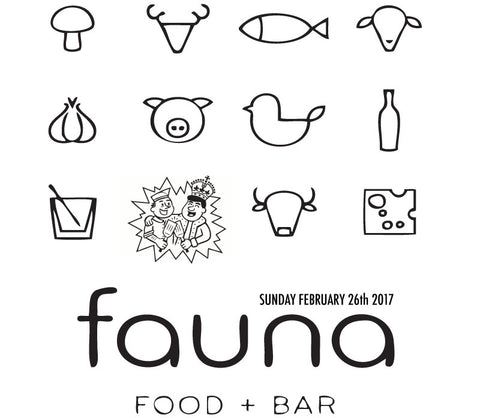 Diner Takeover: Fauna