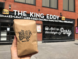 coffee, the king eddy, ottawa, restaurant, diner, coffee beans, fair trade, locally roasted, full medium coffee roast blend, local, king eddy, diner coffee