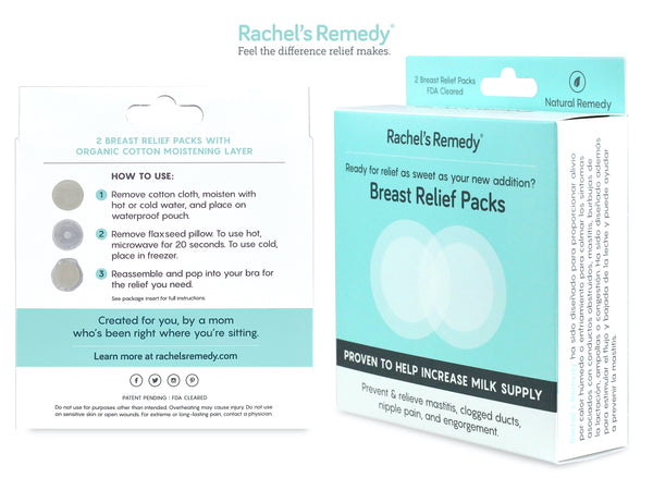 Rachel's Remedy Breast Relief Packs (2-pack)
