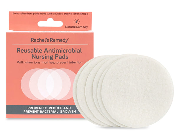 Rachel's Remedy Antimicrobial Nursing Pads (6 pads)