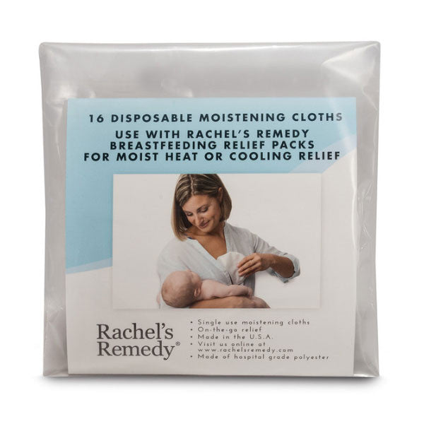 Rachel's Remedy Disposable Moistening Cloths - 16 Pack