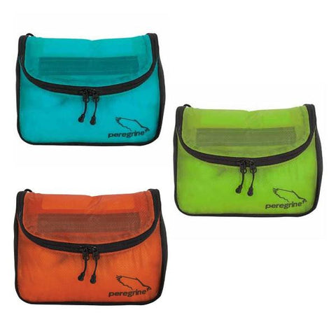 Peregrine Hanging Toiletry Bag w/ Toothbrush & Containers